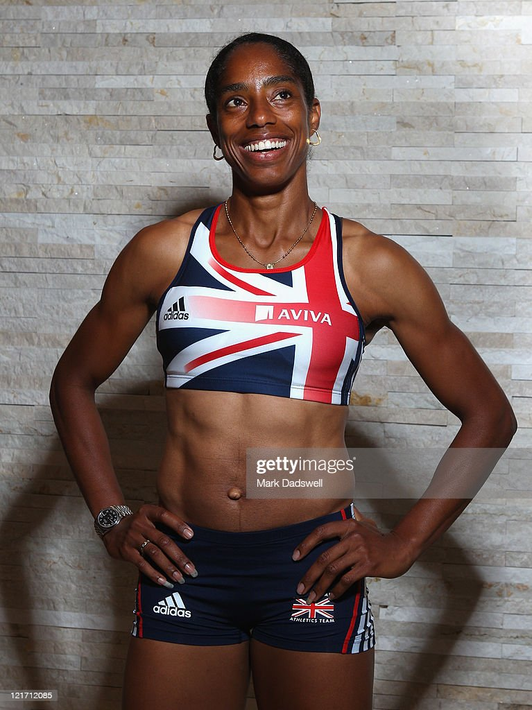 Yamile Aldama of Great Britain...