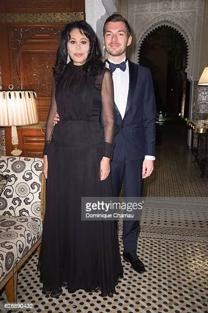 Yamina Benguigui and guest attends the diner of the tribute to d'isabelle adjani during the 16th Marrakech International Film Festival Day Eight on...