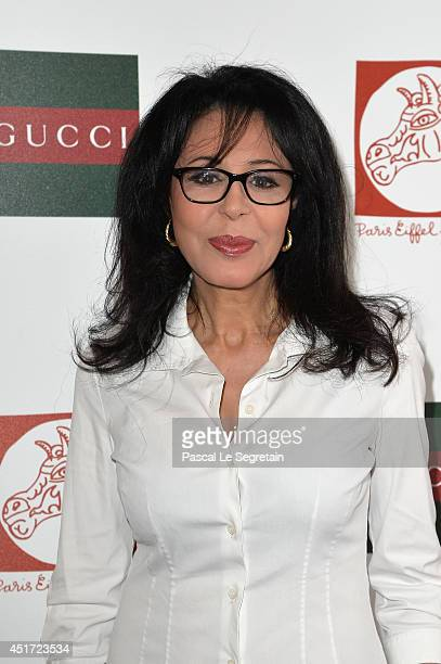 Yamina Benguigui attends the Paris Eiffel Jumping presented by Gucci at ChampdeMars on July 5 2014 in Paris France