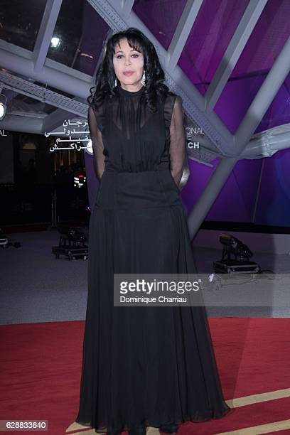 Yamina Benguigui attends the tribute to Isabelle Adjani during the16th Marrakech International Film Festival Day Eight on December 9 2016 in...