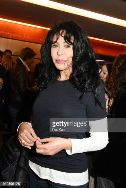 Yamina Benguigui attends 'Voyoucratie' premiere at Publicis Champs Elysees on January 31 2018 in Paris France