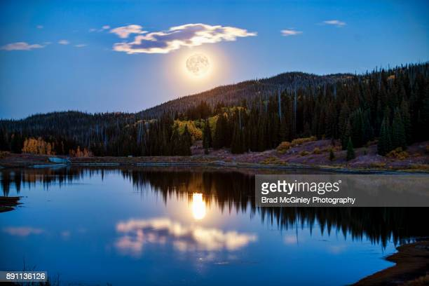 yampa moon - harvest moon stock pictures, royalty-free photos & images