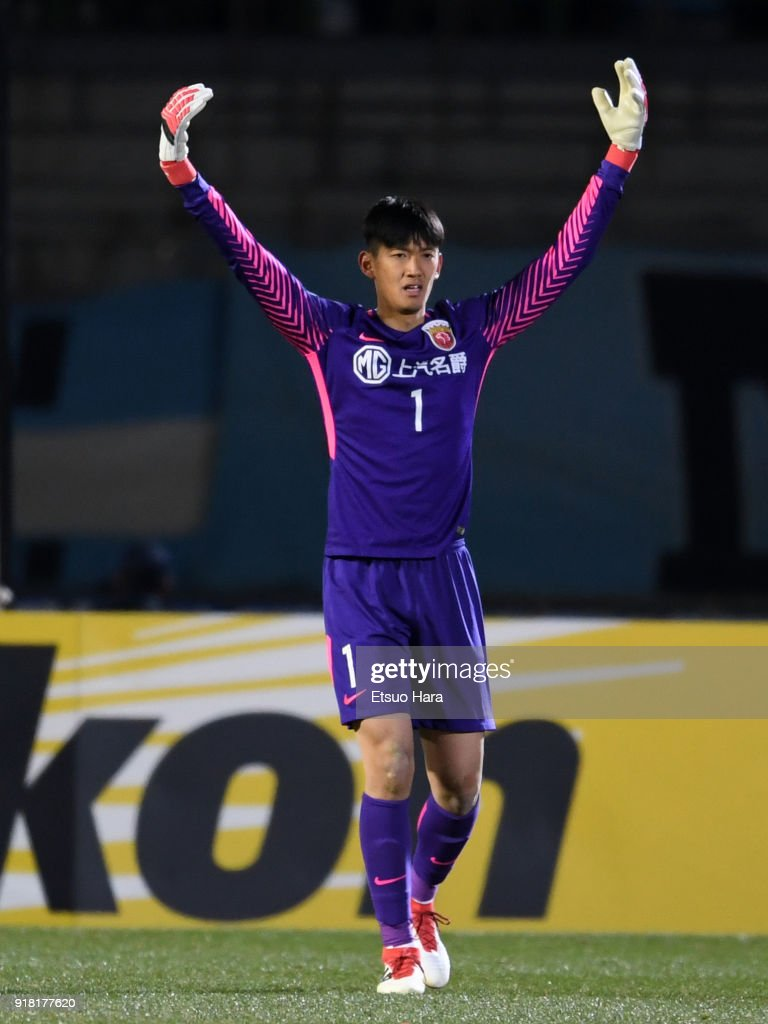 Yan Junling of Shanghai SIPG in action during the AFC Champions League Group F match between Kawasaki Frontale and Shanghai SIPG at Todoroki Stadium on February 13, 2018 in Kawasaki, Kanagawa, Japan.