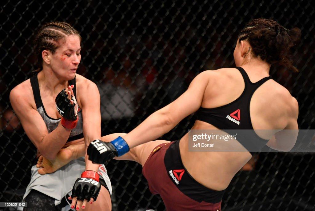 UFC Fight Night: Kowalkiewicz v Xiaonan : News Photo