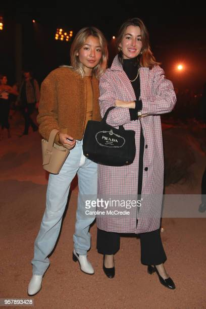 Yan Yan Chan and Carmen Hamilton attend the MercedesBenz Presents Camilla And Marc show at MercedesBenz Fashion Week Resort 19 Collections at the...