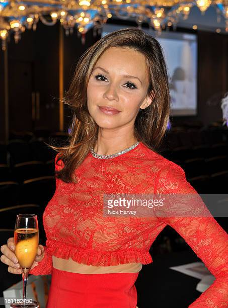 Yana Aintabi attends the Nina Naustdal Runway show following London Fashion Fashion Week SS14 at The Mayfair Hotel on September 19 2013 in London...