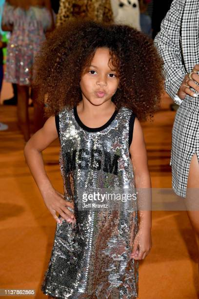 Yana attends Nickelodeon's 2019 Kids' Choice Awards at Galen Center on March 23 2019 in Los Angeles California
