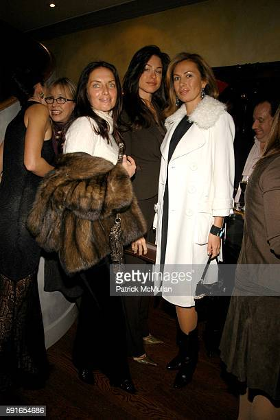 Yana Balan Paige Boller and Inga Rubenstein attend de Grisogono Geveve Cocktail Party to benefit God's Love We Deliver at The de Grisogono Boutique...