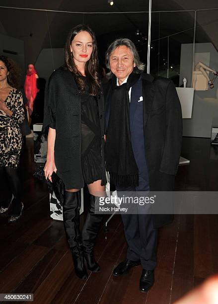 Yana Boyko and Leon Max attend the private view of Isabella Blow Fashion Galore Party at Somerset House on November 19 2013 in London England