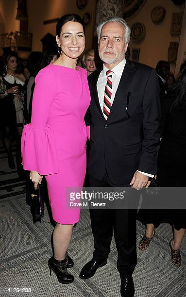 Yana Peel and Martin Roth attend the VA Design Fund Gala at The VA on March 13 2012 in London England
