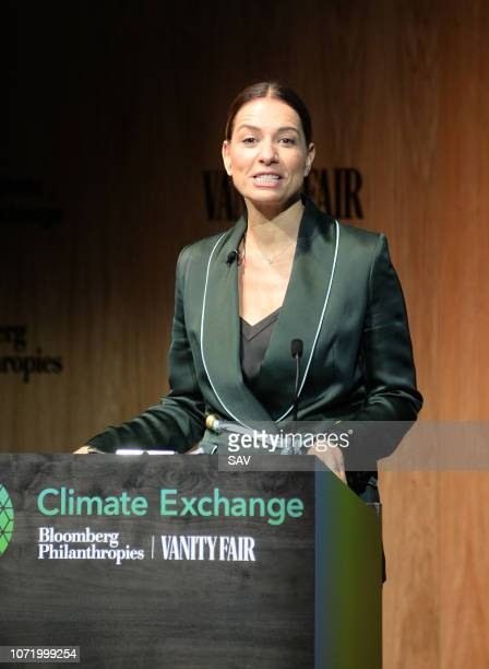 Yana Peel CEO Serpentine Galleries during The Climate Change Conference held at Bloomberg London on December 12 2018 in London England