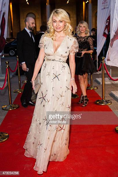 Yana Rudkovskaya attends the Hello The Most Stylish Ceremony Moscow on May 13 2015 in Moscow Russia