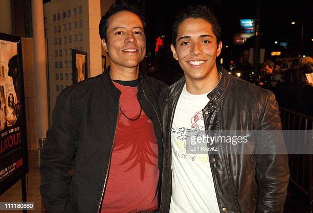 Yancey Arias and Diego Torres during HBO Films Walkout Premiere Red Carpet and After Party at Cinerama Dome in Hollywood California United States