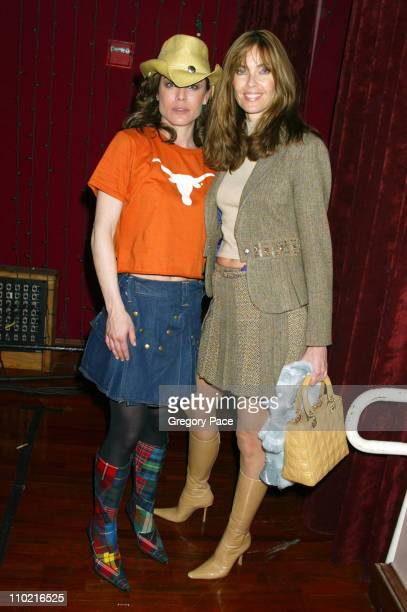 Yancy Butler and Carol Alt during Dressed to Kilt A Scottish Evening of Fashion and Fun Arrivals and Backstage at Copacabana in New York City New...