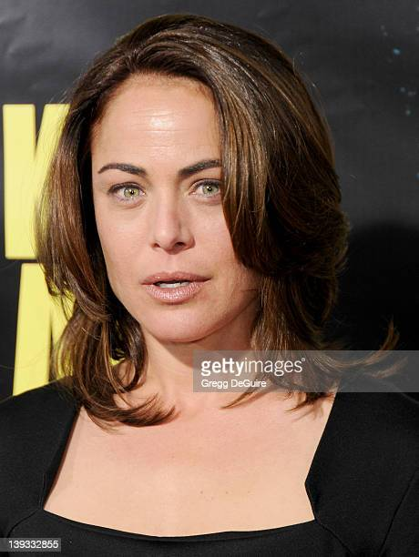 Yancy Butler arrives at the KickAss Los Angeles Premiere at The Cinerama Dome on April 13 2010 in Hollywood California