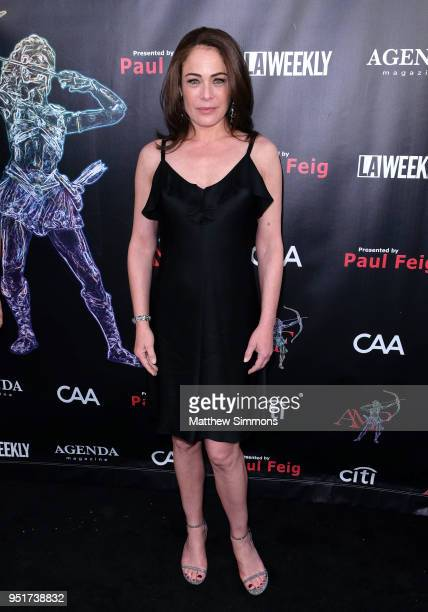 Yancy Butler attends the 4th Annual Artemis Women In Action Festival at the Ahrya Fine Arts Theater on April 26 2018 in Beverly Hills California
