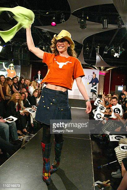 Yancy Butler during Dressed to Kilt A Scottish Evening of Fashion and Fun Runway at Copacabana in New York City New York United States