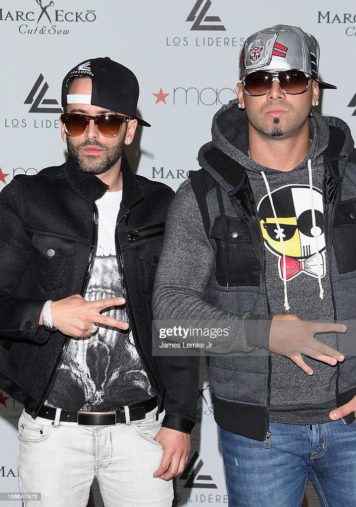 Winsin yandel fan meet greet at macys mens store montebello yandel and wisin attend the wisin yandel fan meet greet held at macys mens m4hsunfo Image collections