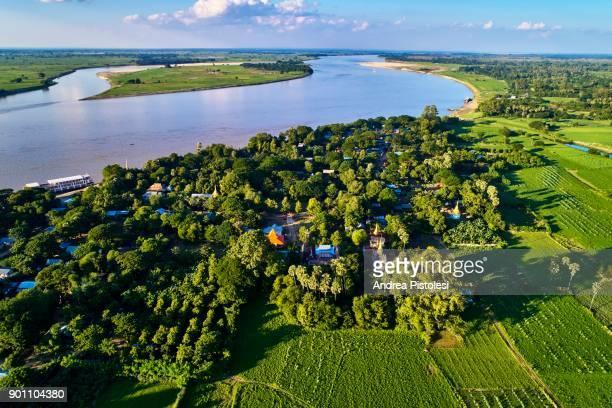 Yandobo village, Ayeyarwady River, Myanmar