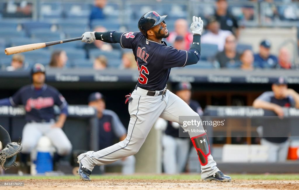 Cleveland Indians v New York Yankees - Game Two : News Photo
