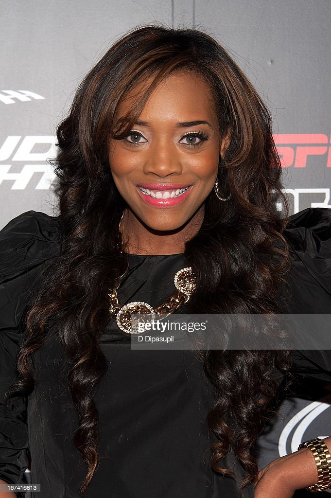 Yandy Smith attends the ESPN The Magazine 10th annual Pre-Draft Party at The IAC Building on April 24, 2013 in New York City.