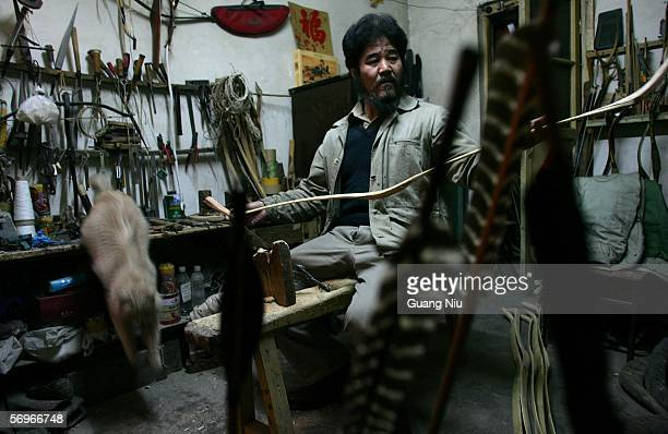 29 Traditional Chinese Arrow And Bow Maker Continues Family
