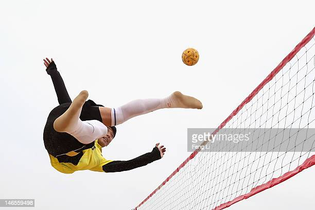 Sepak Takraw Stock Photos And Pictures