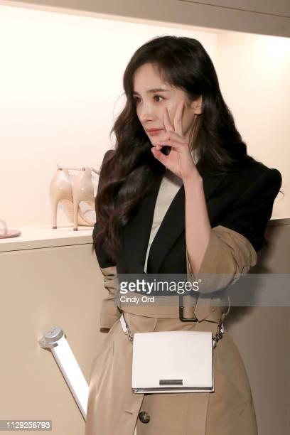 Yang Mi attends Stuart Weitzman Spring Celebration 2019 on February 12 2019 in New York City