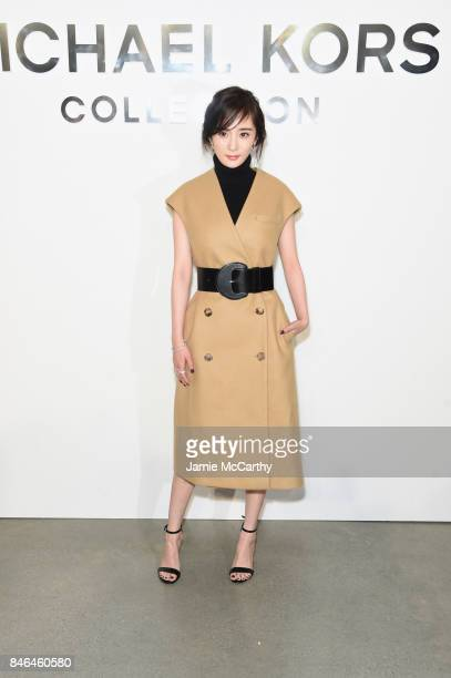 Yang Mi attends the Michael Kors Collection Spring 2018 Runway Show at Spring Studios on September 13 2017 in New York City