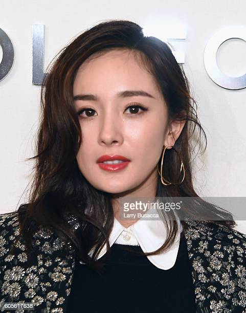 Yang Mi attends the Michael Kors Spring 2017 Runway Show during New York fashion week at Spring Studios on September 14 2016 in New York City