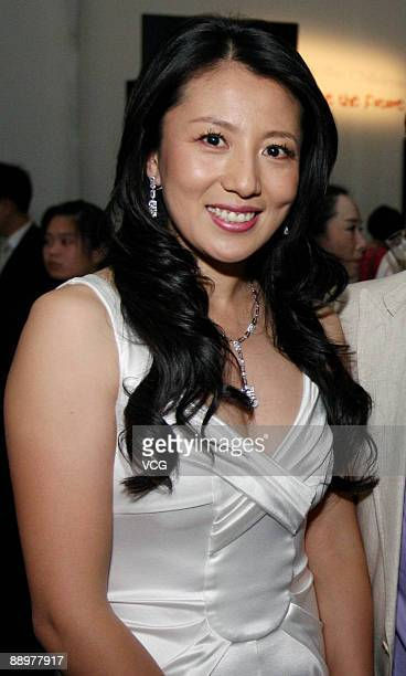 Yang Yang attends the 125th anniversary ceremony for BVLGARI on July 10 2009 in Beijing China
