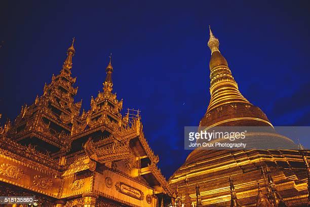 Yangon Shwedagon temple