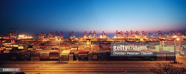 Yangshan Deep-Water Port Panorama