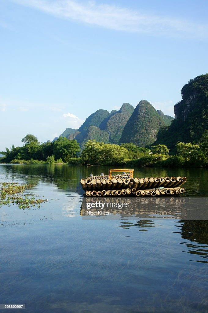 Yangshuo Landscape, Guilin : Stock Photo