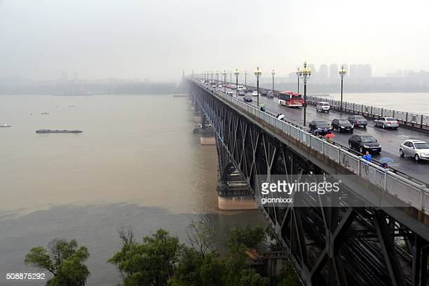 Yangtze River Bridge in Nanjing, China