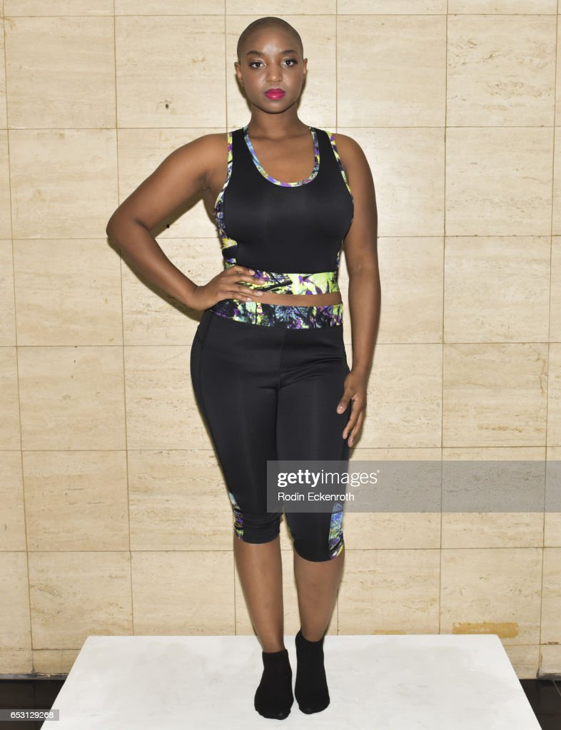 Yani models fashion line at debut of Tonya Renee Banks' 'Lil Boss Body' at Fathom on March 13, 2017 in Los Angeles, California.