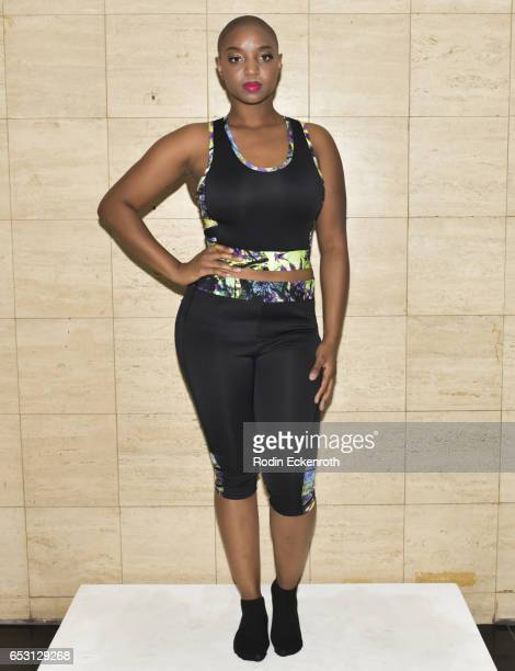 Yani models fashion line at debut of Tonya Renee Banks' Lil Boss Body at Fathom on March 13 2017 in Los Angeles California