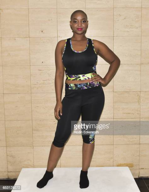 """Yani models fashion line at debut of Tonya Renee Banks' """"Lil Boss Body"""" at Fathom on March 13, 2017 in Los Angeles, California."""