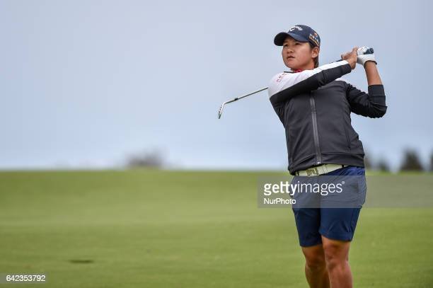 Yani Tseng of Taipei on the 11th fairway during round two of the ISPS Handa Women's Australian Open at Royal Adelaide Golf Club on February 17 2017...