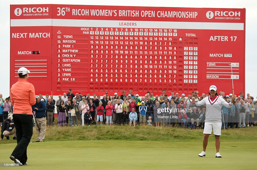 Ricoh Women's British Open - Day Four