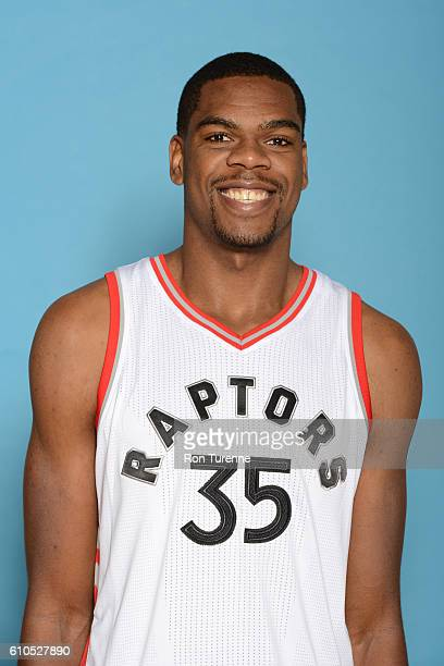 Yanick Moreira of the Toronto Raptors poses for a head shot during the 20162017 Media Day on September 26 2016 at the BioSteel Centre in Toronto...