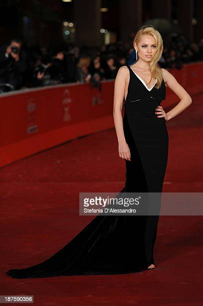 Yanina Studilina attends 'Stanlingrad 3D' Premiere during The 8th Rome Film Festival on November 10 2013 in Rome Italy