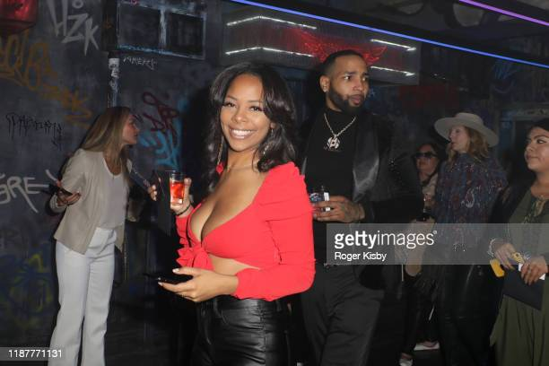 Yanira Pache and J Dinero attend the grand opening night for RUN The First Live Action Thriller presented By Cirque du Soleil at Luxor Hotel and...