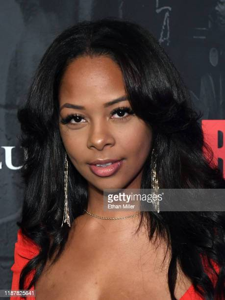 Yanira Pache attends the grand opening night for RUN The First Live Action Thriller presented By Cirque du Soleil at Luxor Hotel and Casino on...
