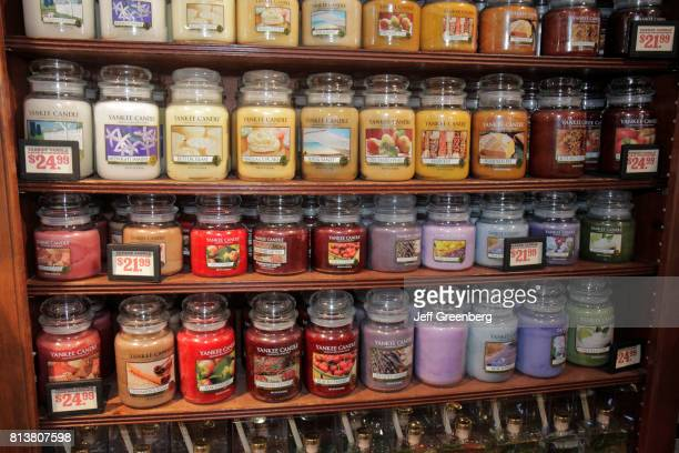 Yankee Candles for sale at Cracker Barrel Old Country Store.
