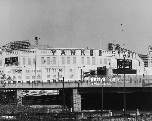 Madison Square Garden: Yankee Stadium In The Bronx, New York City, Circa 1965