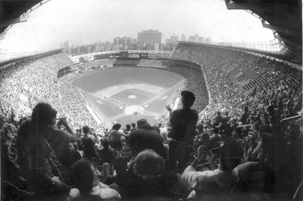 Yankee Stadium is packed for the New Y ork Yankees' season o