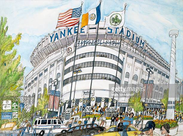 Yankee Stadium New York by Mark McMahon