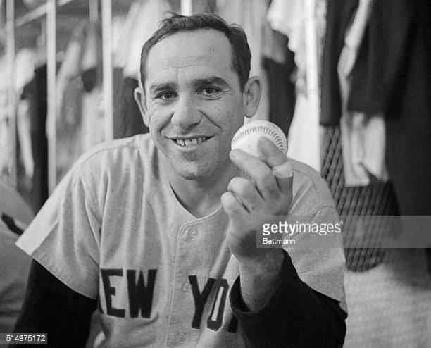 Yankee Yogi Berra set a new homerun record for catchers when he hit the 237th homer of his career during the 5th inning of the New YorkDetroit game...