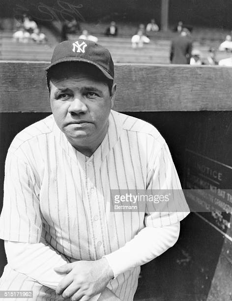 Yankees Babe Ruth right field